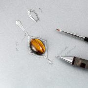 jewellery-photos, ювелирный фотограф, Ювелирная фотосъемка, ожерелье, Яны Расковаловой модель, yanaraskovalova, художественная съемка ювелирных украшений, эскиз