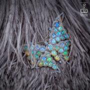 jewellery-photos, ювелирный фотограф, Ювелирная фотосъемка, ожерелье, Яны Расковаловой модель, yanaraskovalova, художественная съемка ювелирных украшений, брошь бабочка, опалы