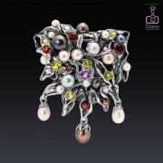 jewellery-photos, ювелирный фотограф, ювелирная фотосъемка, брошь, подвеска