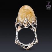 jewellery-photos, ювелирный фотограф, Ювелирная фотосъемка, кольцо с кварцем волосатиком