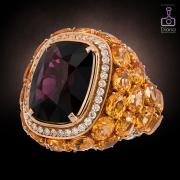 ювелирная съемка, кольцо, jewellery-photos, ювелирный фотограф, Maria Gaspari со шпинелью
