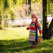 русский народный костюм, Аленушка, корзинка, фотосессия в народном костюме, девочка