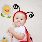 family-photos, baby, children, famili, семейная съемка, дети, божья коровка