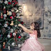 family-photos, Новогодняя фотосессия, дети, девочка, детская съемка, дети