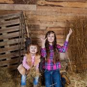 family-photos, baby, children, famili, семейная съемка, дети, дети на сеновале, фотосессия