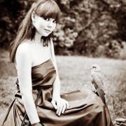птицы, девушка птица, фотосессия