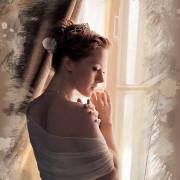 нежность, невеста, пастель, акварель, фотогра Диана Лабановская