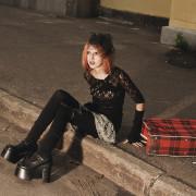 promenad s chemodanom, прогулка, фотосессия, променад, фотограф в Москве, девушка