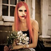 взгляд, голод, портрет женский, вампир, готика, кровь, хищница, Средневековье, vampire, blood, photographer, Диана Лабановская, девушка