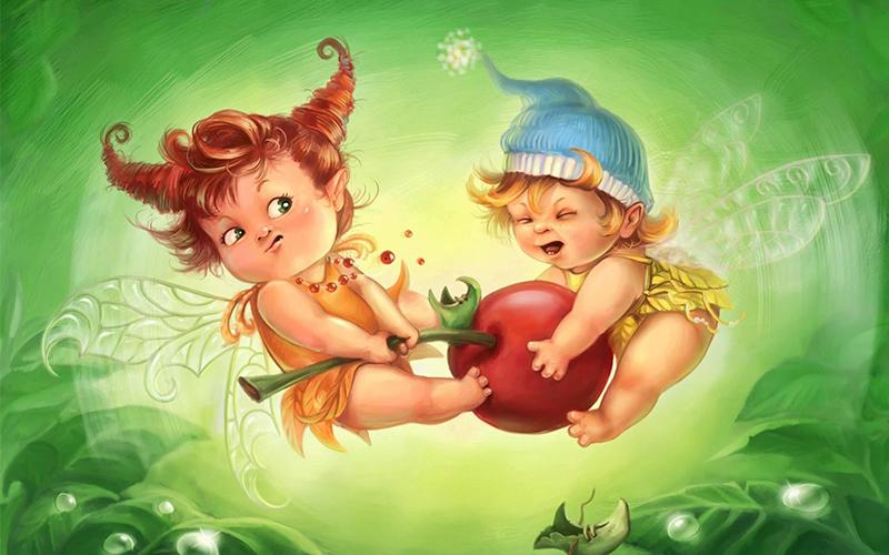 детки феечки эльфы