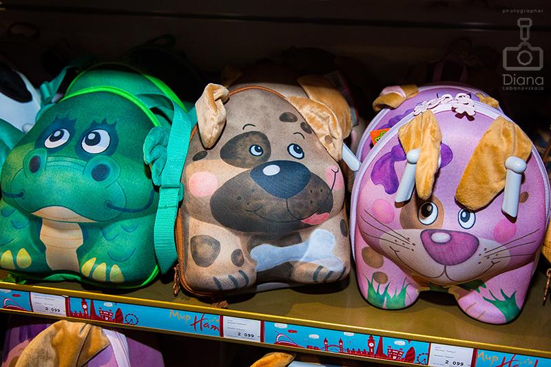 детские рюкзаки зверюшки