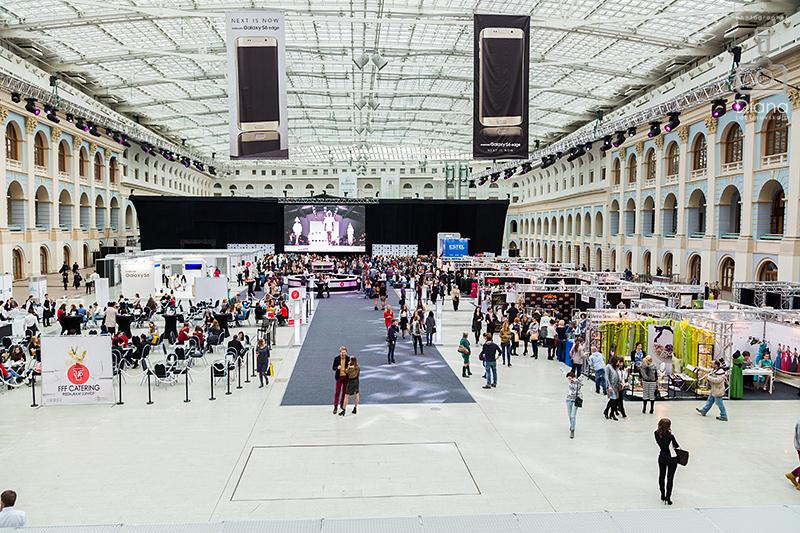 Неделя моды в Москве 2015, Гостиный двор