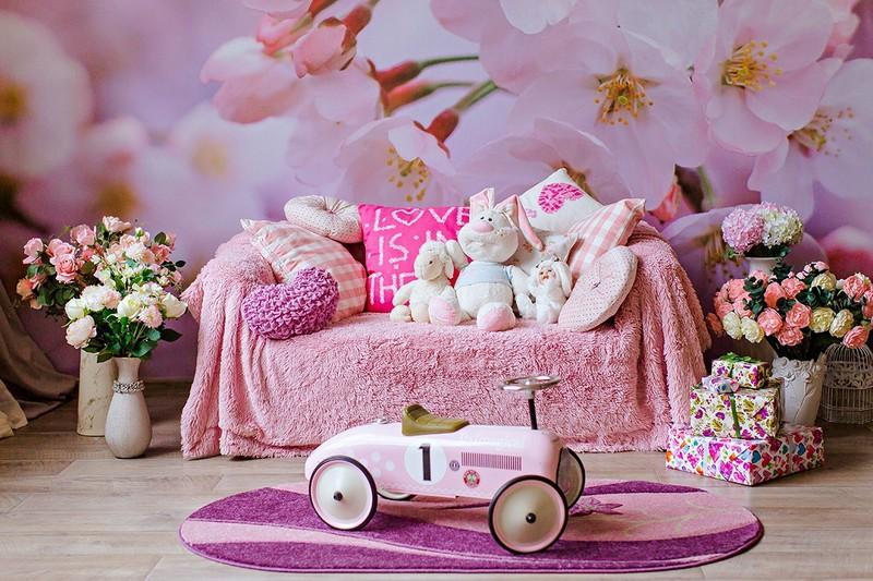 Шоколад фотостудия, детская и семейная, красивые интерьеры, декорации, розовая фотостудия