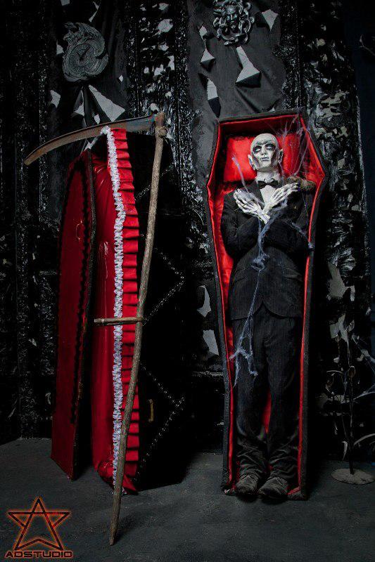 готический интерьеры, вампиры, ад, фотостудия, Агна Деви Студия
