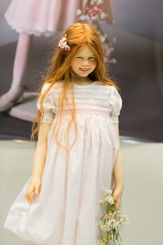 Laura Scattolini, doll, Салон кукол в Москве 2015, http://dollsalon.ru/, international doll salon in Moscow,