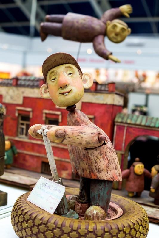 doll, Салон кукол в Москве 2015, http://dollsalon.ru/, international doll salon in Moscow, авторская кукла, Борис Иванов художник
