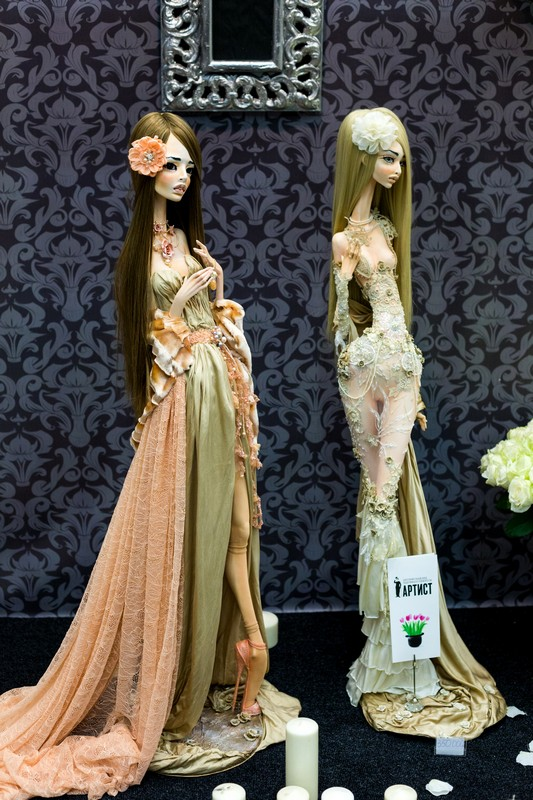 doll, Салон кукол в Москве 2015, http://dollsalon.ru/, international doll salon in Moscow, авторская кукла, Дмитрук Галина, silk