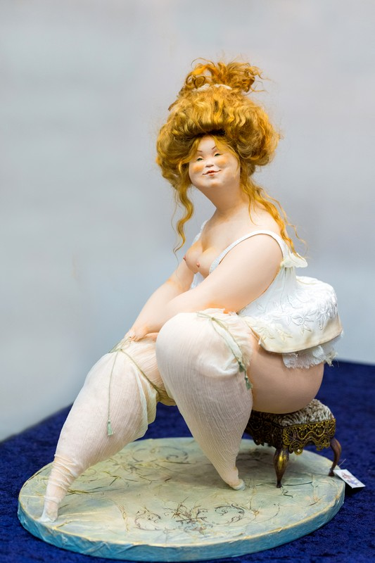 doll, Салон кукол в Москве 2015, http://dollsalon.ru/, international doll salon in Moscow, авторская кукла, АняМаня