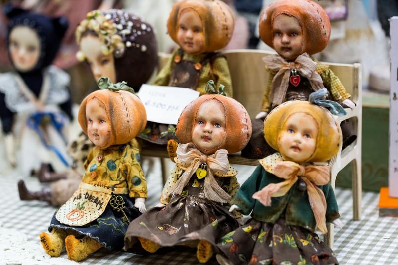 doll, Салон кукол в Москве 2015, http://dollsalon.ru/, international doll salon in Moscow, тыквы